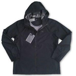 Abercrombie technical rain jacket